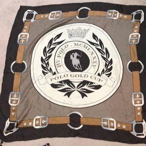 Silk scarf Polo Gold Cup